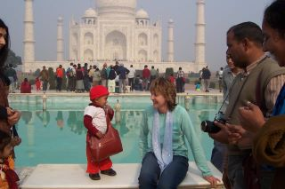 Jenny Stark in India