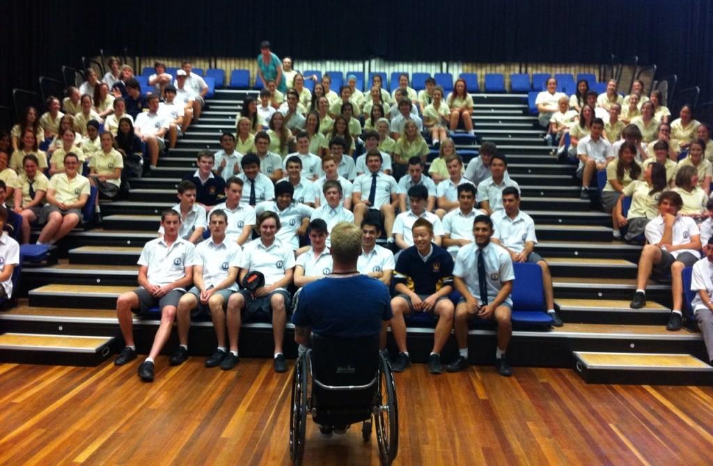 Curtis Palmer - Speaking in Schools