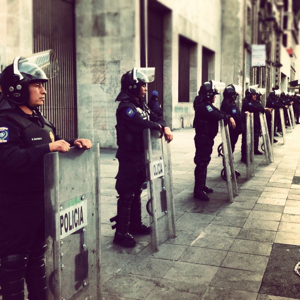 Riot Squad in Mexico City