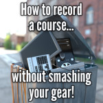 How to record a course