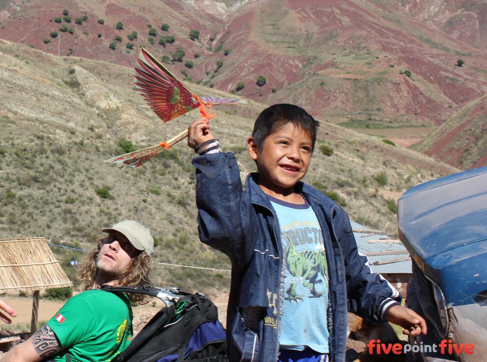 Giving away the birds