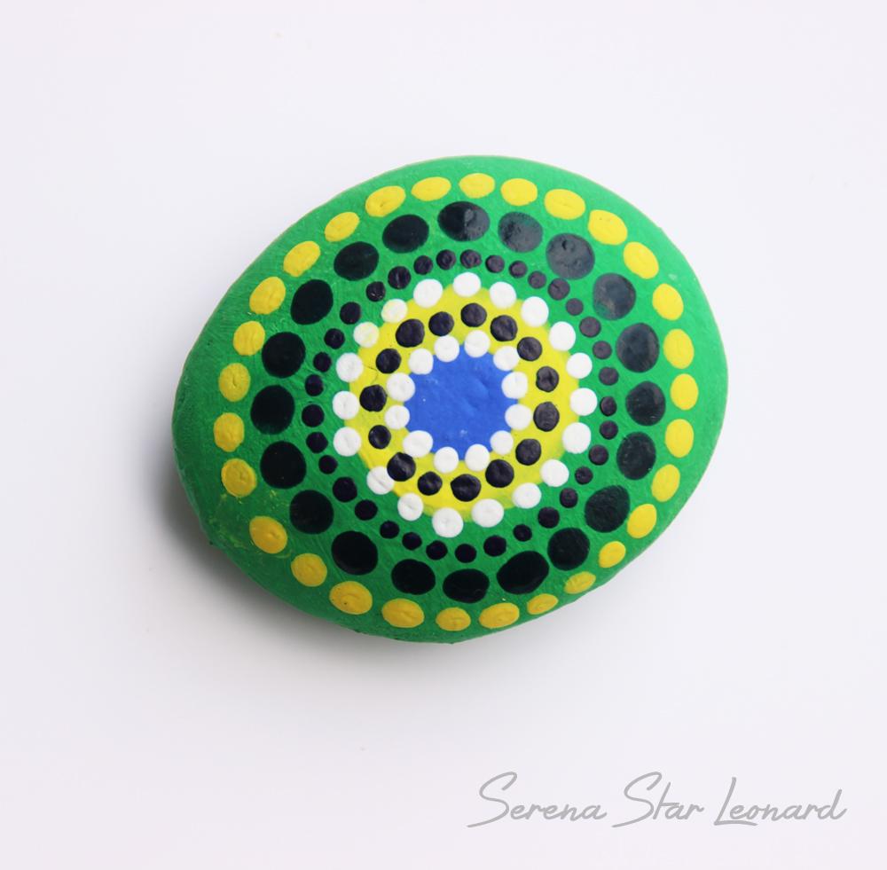 Mandala Pebble - Serena Star Leonard